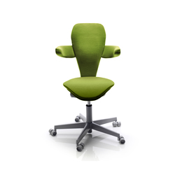 High End Task Chairs With Lumbar Support Height Adjustable On