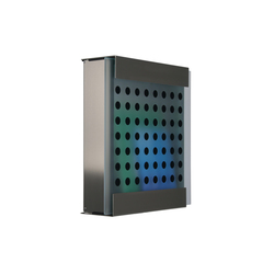 Glasnost.Glass.Black-Dots Mailbox | Mailboxes | keilbach
