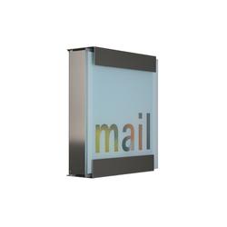 Glasnost.Glass.Mail Mailbox | Boîtes aux lettres | keilbach