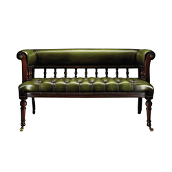 Love Seat | Waiting area benches | Fleming & Howland