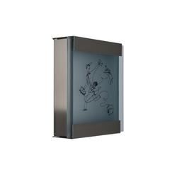 Glasnost.Glass.Michl-Luz Briefkasten | Briefkästen | keilbach