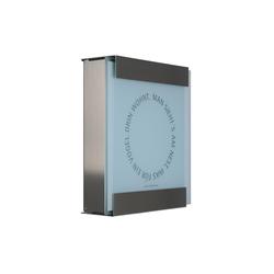 Glasnost.Glass.Nest Briefkasten | Briefkästen | keilbach