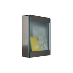 Glasnost.Glass Mailbox | Mailboxes | keilbach