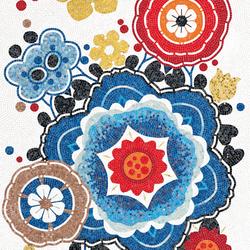 Bloem Rosso | Mosaicos de vidrio | Bisazza