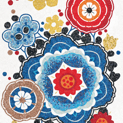 Bloem Rosso | Glas Mosaike | Bisazza