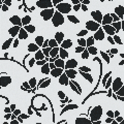 Hana Flower Classic A | Mosaïques verre | Bisazza