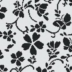 Hana Flower Classic B | Glass mosaics | Bisazza