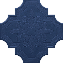 Flaster Dark Blue | Concrete/cement floor tiles | IVANKA