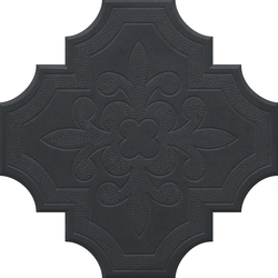 Flaster Midnight Black | Concrete/cement floor tiles | IVANKA