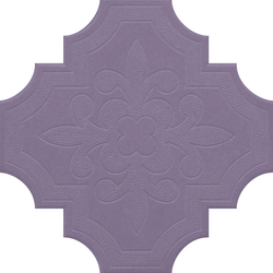 Flaster Purple | Concrete/cement floor tiles | IVANKA