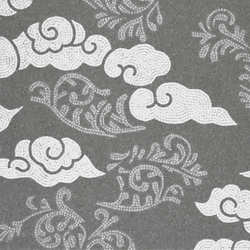 Kumo Cloud Grey | Mosaïques verre | Bisazza