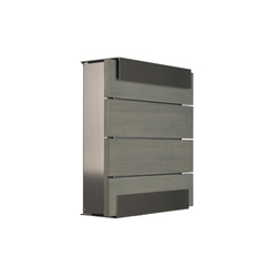 Glasnost.Wood.Grey Mailbox | Mailboxes | keilbach