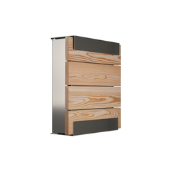 Glasnost.Wood.Larch Mailbox | Mailboxes | keilbach