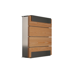 Glasnost.Wood.Oak Mailbox | Mailboxes | keilbach