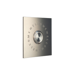 Jingle.Welcome.Square Doorbell | Door buzzers | keilbach