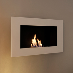 Edge white | Ventless ethanol fires | Vauni Fire