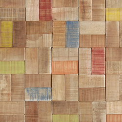 Cocomosaic envi tiles puzzle multicolor | Floor tiles | Cocomosaic