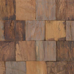 Cocomosaic envi puzzle multicolor | Coconut flooring | Cocomosaic