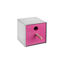 Twitter.Pink Nesting Box | Bird houses / feeders | keilbach