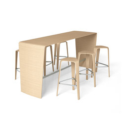 hoc | Tables debout | Brunner