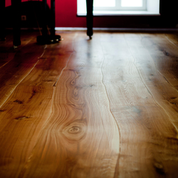 Rustic Oak stained oil parquet | Wood flooring | Bolefloor