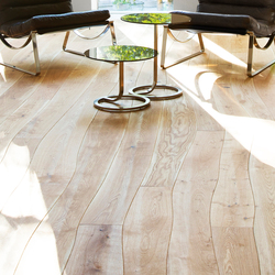 Natural Oak with sapwood stained oil solid | Wood flooring | Bolefloor