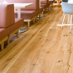 Natural Oak with sapwood natural oil parquet | Wood flooring | Bolefloor