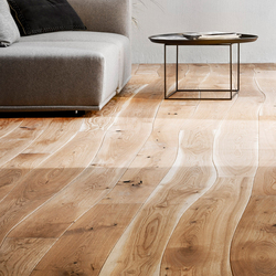 Natural Oak with sapwood brushed parquet | Wood flooring | Bolefloor