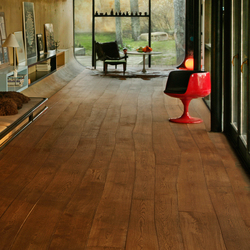 Natural Oak without sapwood brushed solid | Wood flooring | Bolefloor