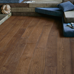 Natural Oak without sapwood brushed parquet | Wood flooring | Bolefloor