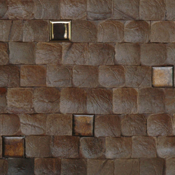 Cocomosaic tiles espresso bliss with ceramic | Mosaicos de pared | Cocomosaic