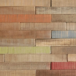 Cocomosaic h.v. envi stick tiles multicolor | Sols en bois | Cocomosaic