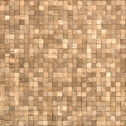 Cocomosaic wall tiles natural fantasia | Mosaïques en coco | Cocomosaic