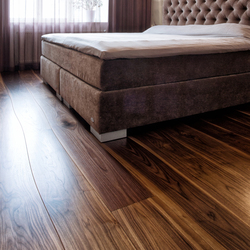 Walnut stained oil parquet | Wood flooring | Bolefloor