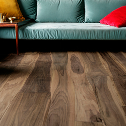 Walnut brushed parquet | Wood flooring | Bolefloor