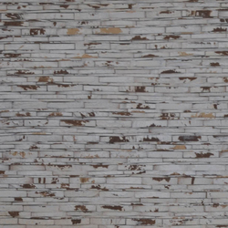 Cocomosaic wall tiles coco stone look white patina grain | Dalles en coco | Cocomosaic