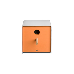Twitter.Orange Nesting Box | Bird houses / feeders | keilbach