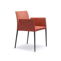 Deen chair with armrests | Sedie visitatori | Walter Knoll