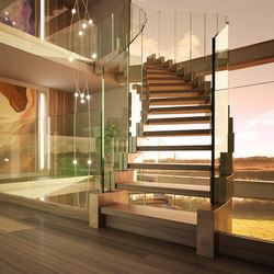Cobra bronze | Escaleras de madera | Siller Treppen