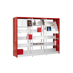 Littbus Framed | Library shelving systems | Lustrum