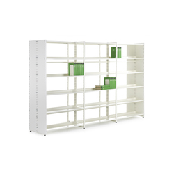 Librum Melamine | Library shelving systems | Lustrum
