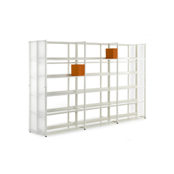 Librum Perspex | Library shelving systems | Lustrum