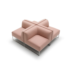 Mell seating group | Divani lounge | COR