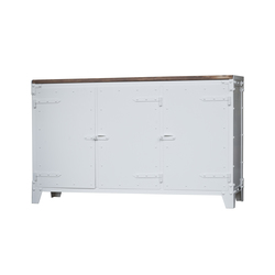 SIDEBOARD PX STEEL | Buffets / Commodes | Noodles Noodles & Noodles