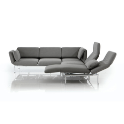 roro medium corner group | Reclining sofas | Brühl