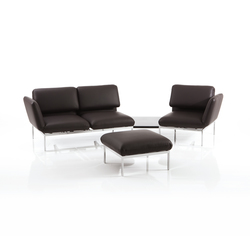 roro-esemble with stool | Reclining sofas | Brühl