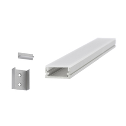 Aluminium Profiles 20.0 x 8.5 mm | LED wall-mounted lights | UNEX
