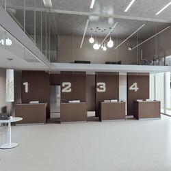 DV703-Qubo 06 | Mostradores de recepción | DVO