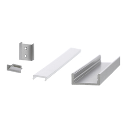 Aluminium Profiles 17.5 x 7.0 mm | LED wall-mounted lights | UNEX