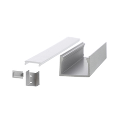 Aluminium Profiles 22.6 x 15.6 mm | LED wall-mounted lights | UNEX